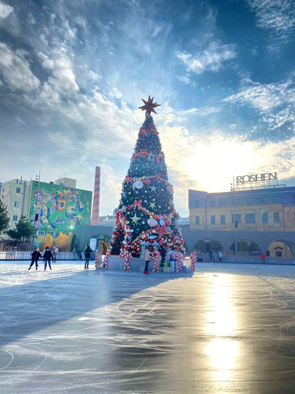 Roshen winter village дубай работа для девушек русских вакансии